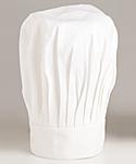White Chef Hat, 13 inch