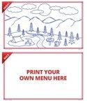 Coloring Sheets Camping, 8.5 x 14