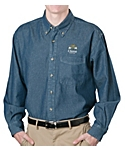 Mens Denim Shirt, Long Sleeve
