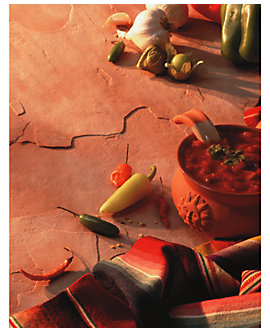 Mexican Salsa Insert Paper, 8.5X11