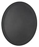Oval Non Slip Polytread Trays, 22 x 27 inch