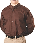 Mens Wrinkle Resistant Dress Shirt, Long Sleeve