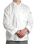 White Value Long Sleeve Chef Coat