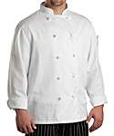 Executive Chef Coat with Knotted Buttons