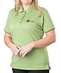 Ladies Bamboo Charcoal Birdseye Jacquard Sport Shirt