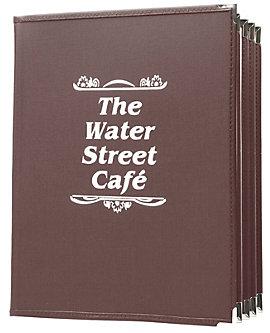 8 View Book Style Fine Bistro Menu