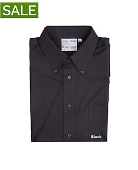 Mens Teflon Dress Shirt, Short Sleeve, Clearance
