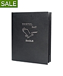 Double Pocket Imported Leather Menu Cover, 8½x11