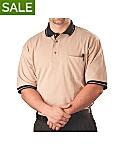 Mens Pique Knit Sport Shirt