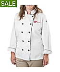 Women's Pima Cotton Chef Coat