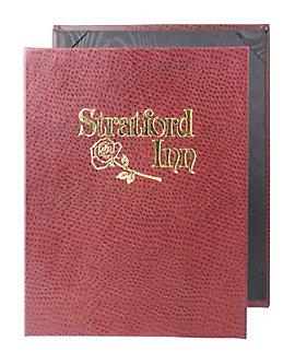 Single Pocket Premium Plus Casebound Menu