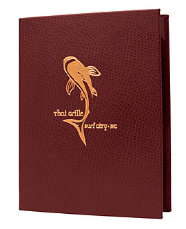 3-Ring Binder Premium Plus Casebound Menu