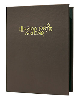 3-Ring Binder Premium Casebound Menu