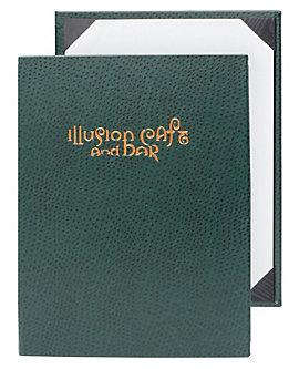 Single Pocket Premium Plus Casebound Menu