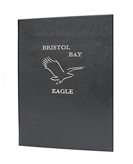 Single Pocket Premium Casebound Menu