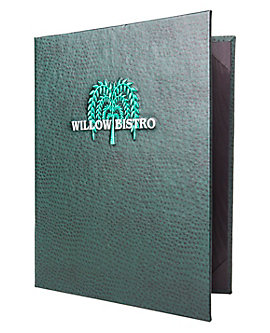 Double Pocket Premium Plus Casebound Menu