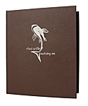 3-Ring Binder Premium Plus Bonded Leather Casebound Menu