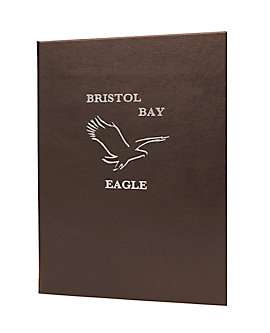 Single Pocket Premium Plus Bonded Leather Casebound Menu