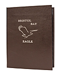Double Pocket Premium Plus Bonded Leather Casebound Menu