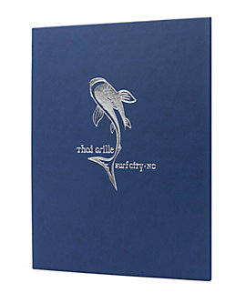 Single Pocket Quality Casebound Menu