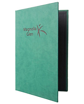 3-Ring Binder Quality Casebound Menu