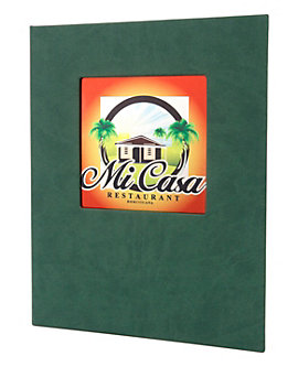 Double Pocket Quality Casebound Menu