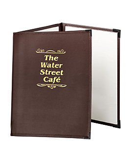 Triple Pocket Fine Cafe Menu