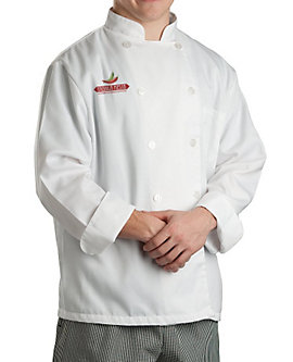 Off-White Chef Coat White Classic LS, Clearance