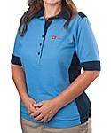 Women's Color Block Silk Touch Sport Shirt